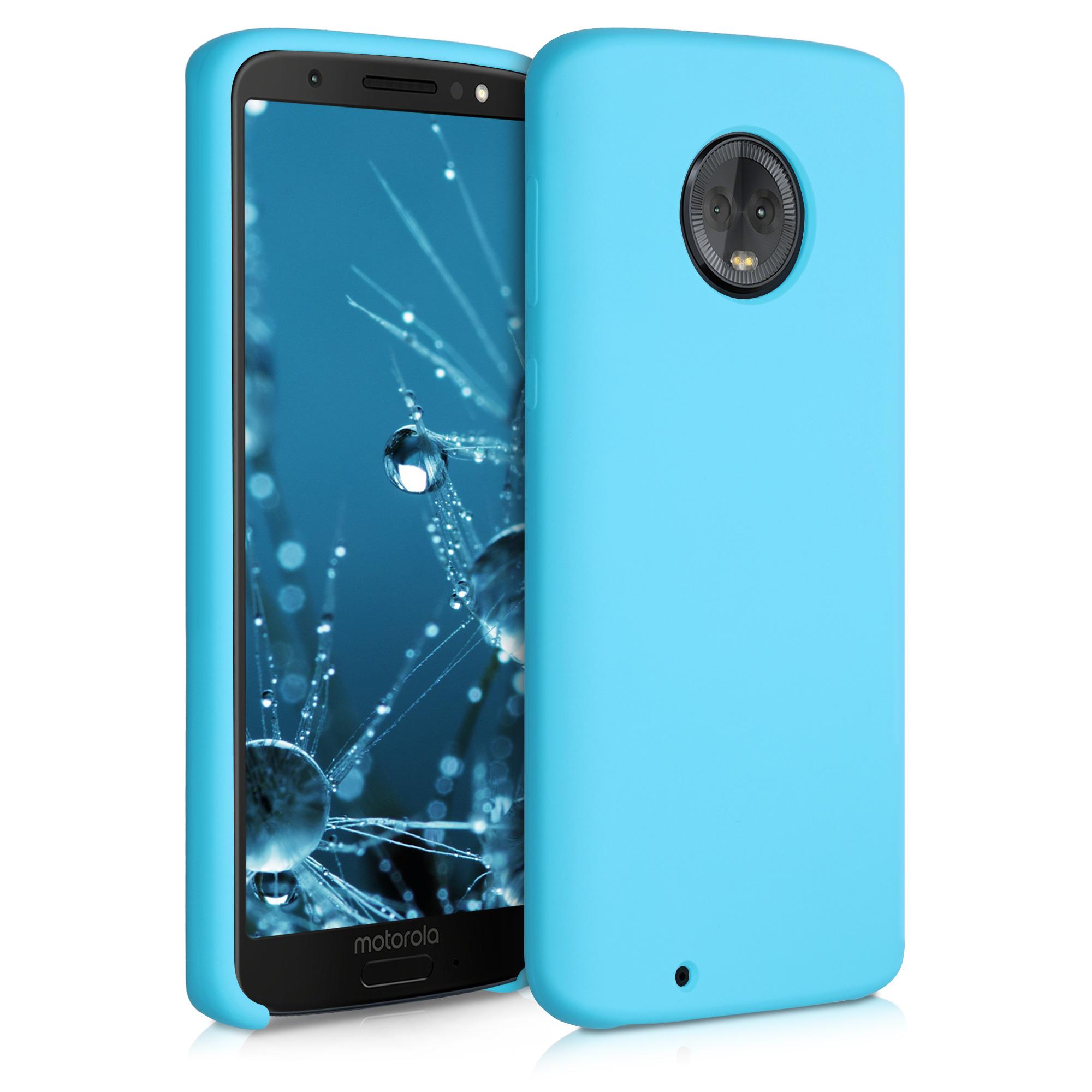 Kvalitní silikonové TPU pouzdro | obal pro Motorola Moto G6 - Ledově modrá