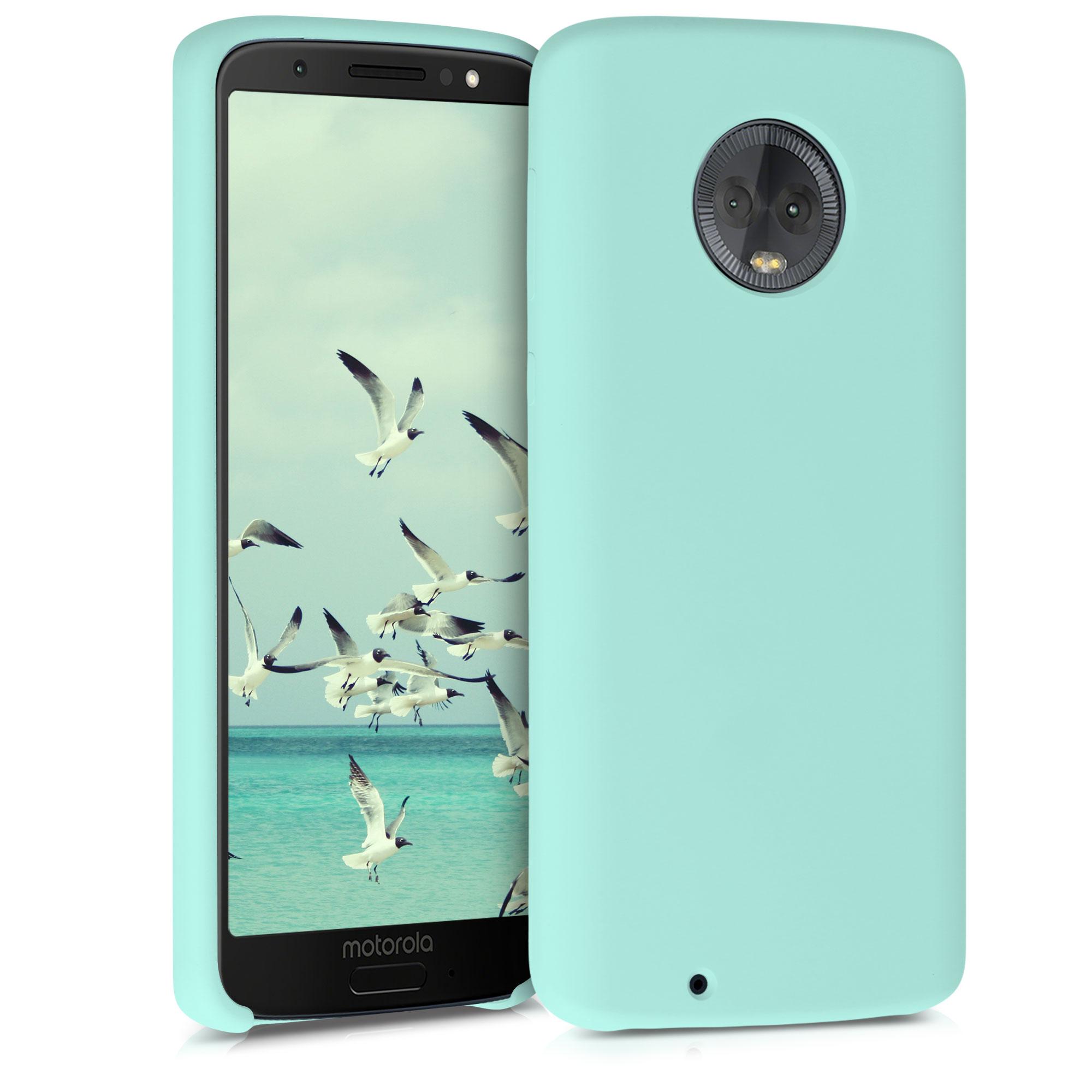 Kvalitní silikonové TPU pouzdro | obal pro Motorola Moto G6 -  Mint