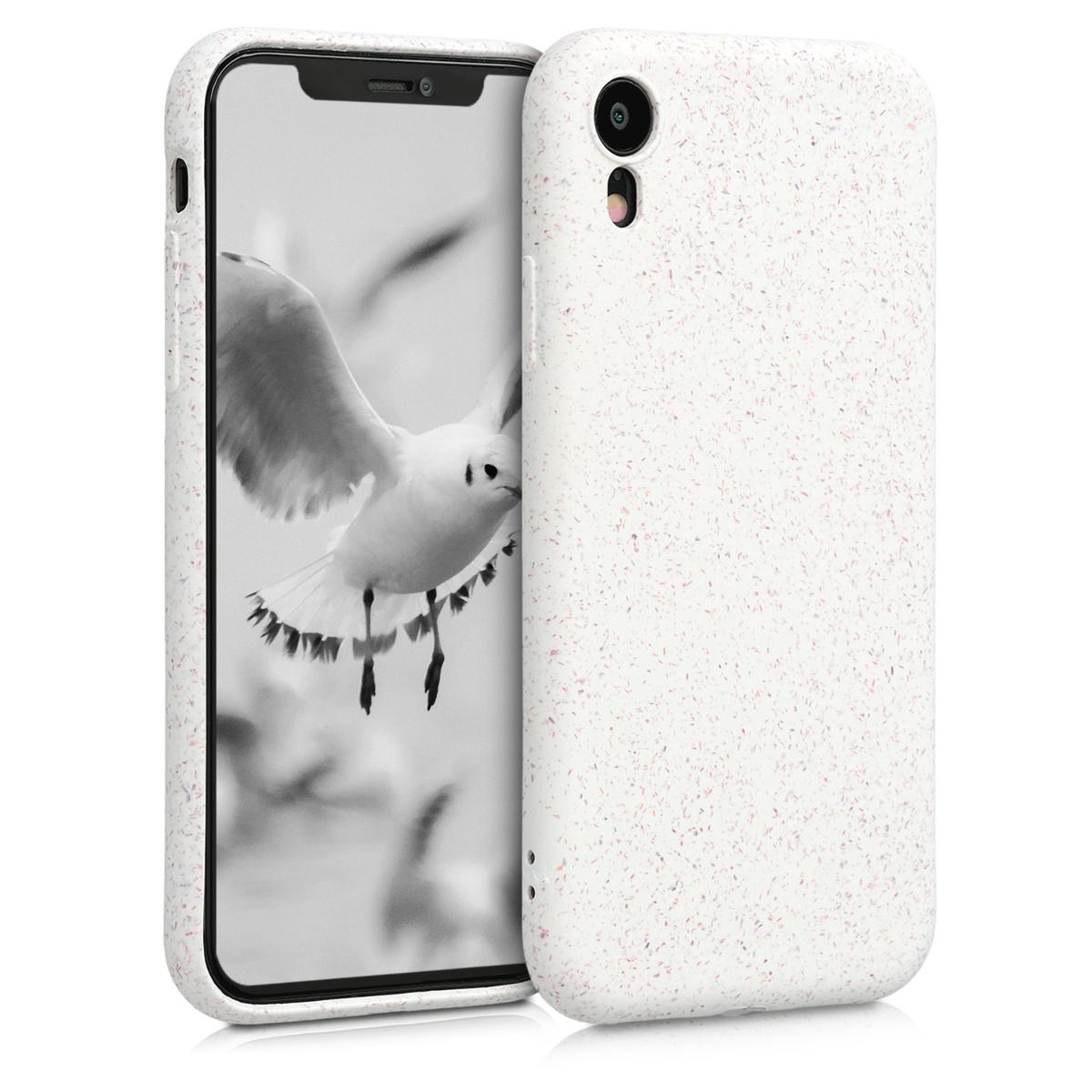 Kvalitní silikonové TPU pouzdro pro Apple iPhone XR - Bílý