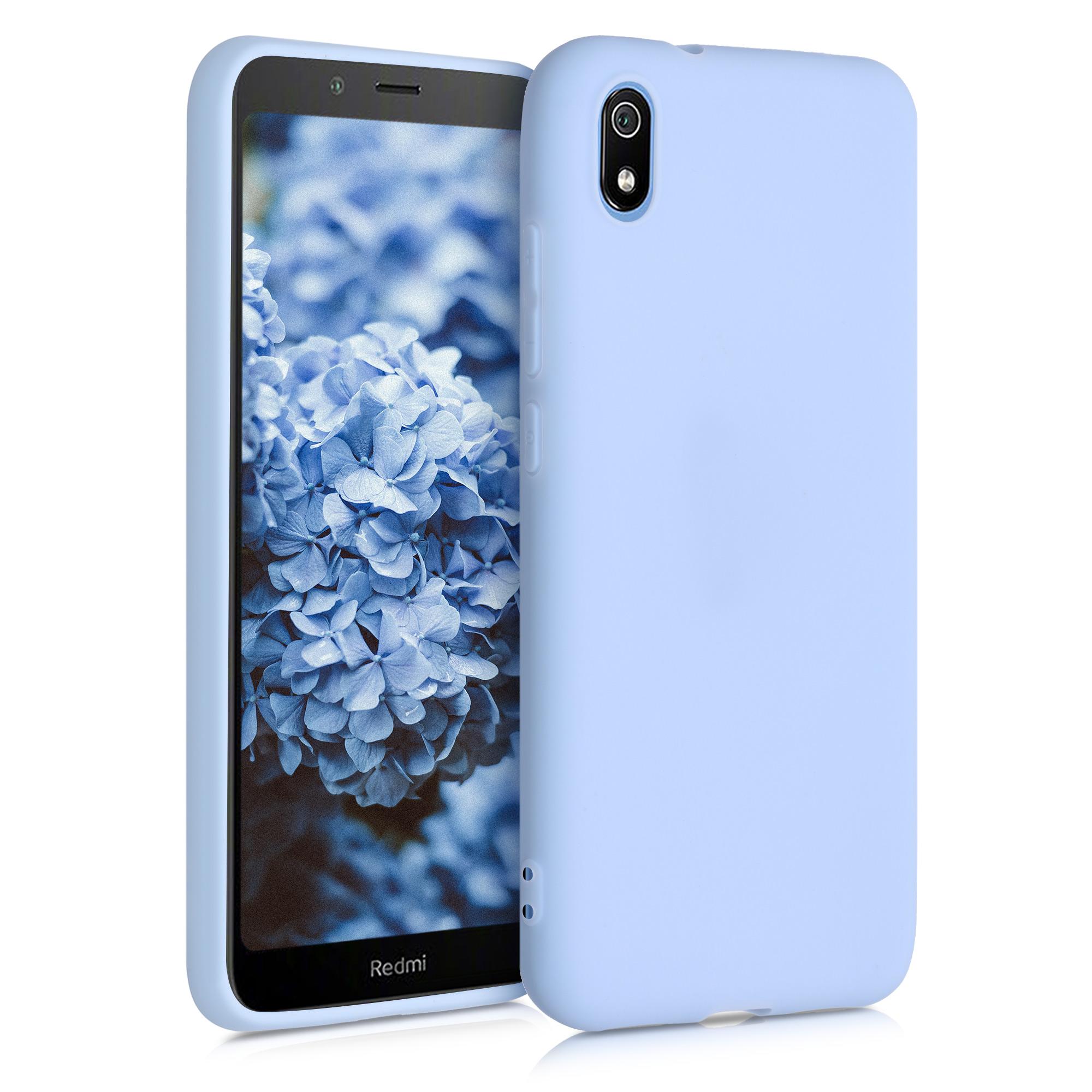 Kvalitní silikonové TPU pouzdro | obal pro Xiaomi Redmi 7A - světle modrý matný