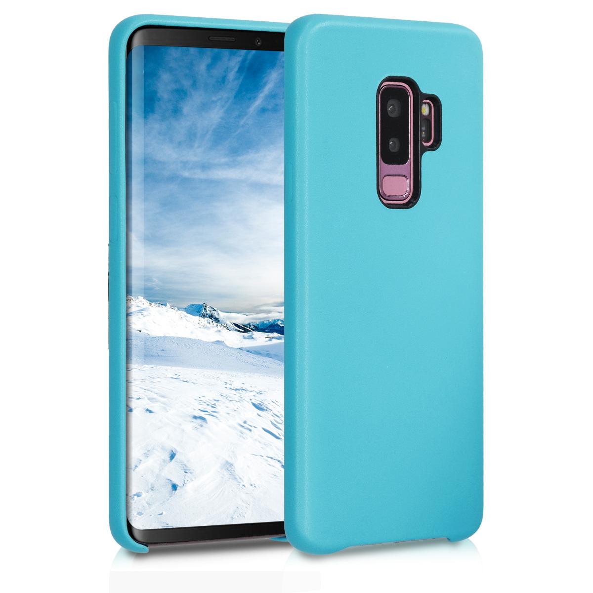 Kvalitní plastové pouzdro pro Samsung S9 Plus - světle  modré