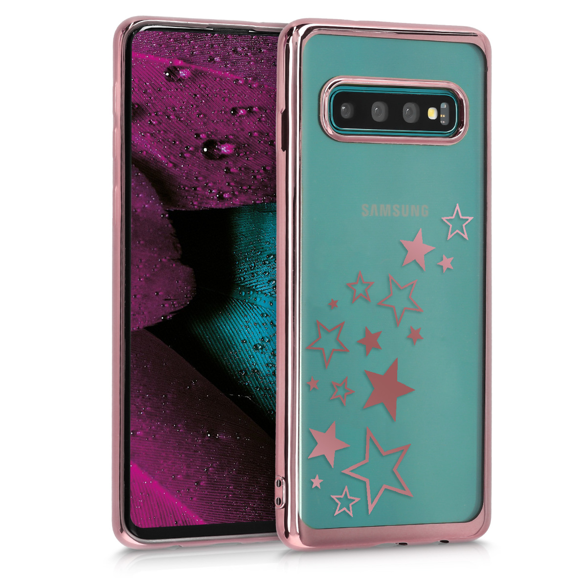 Crystal TPU pouzdro / obal for Samsung Galaxy S10 - Soft