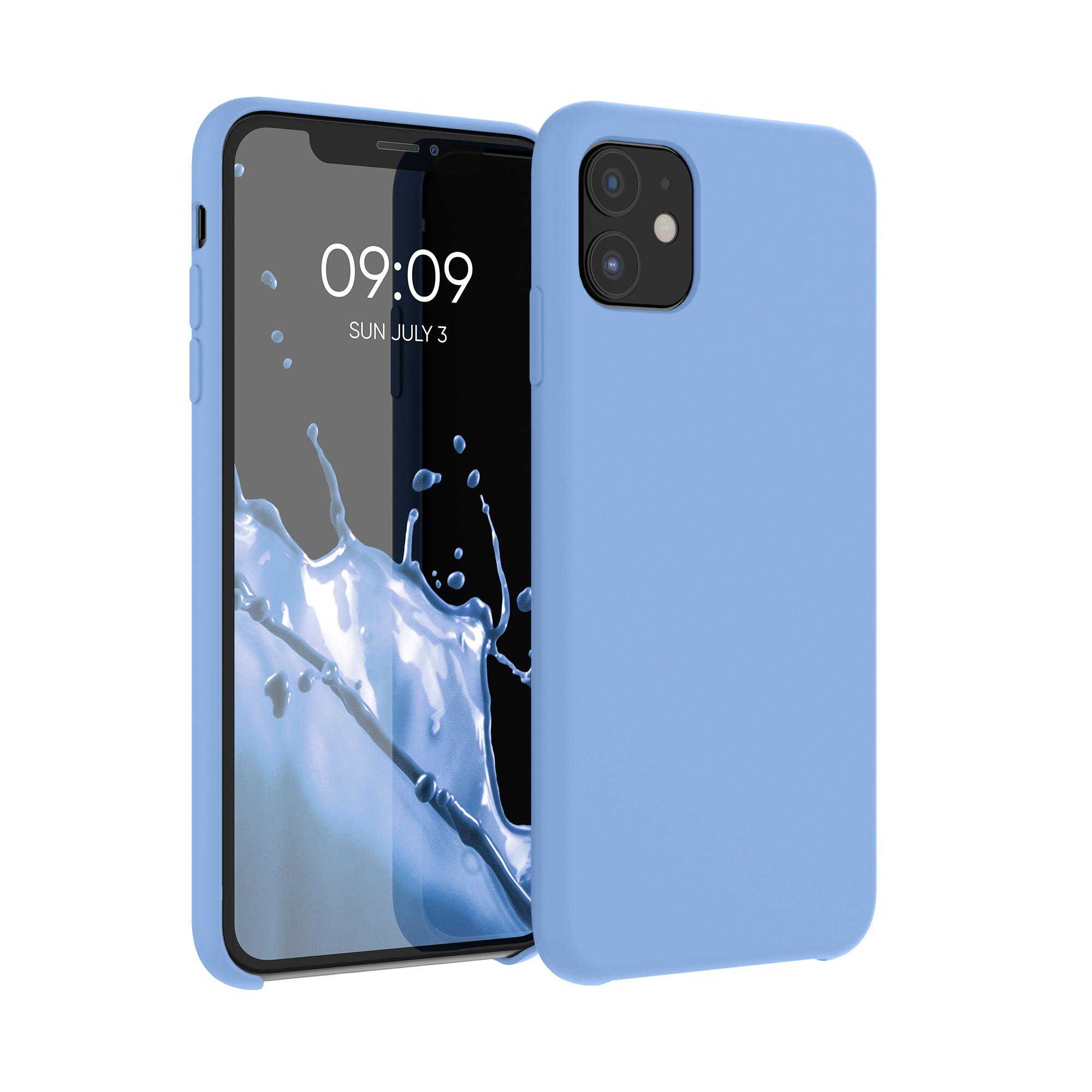 Kvalitní silikonové TPU pouzdro pro Apple iPhone 11 - azurově modré