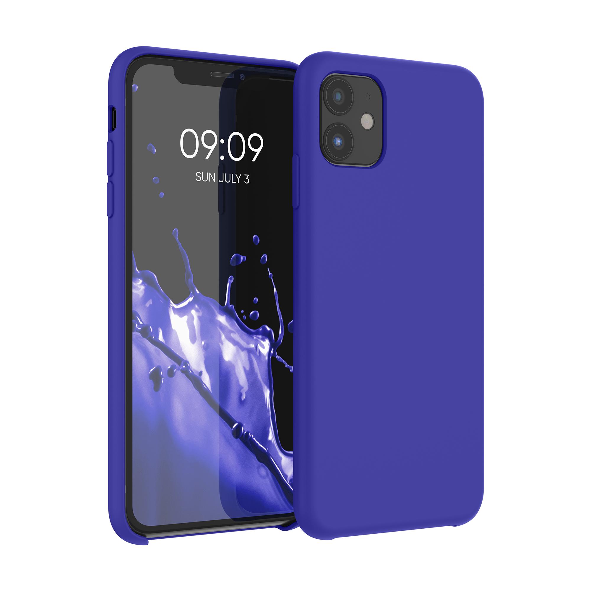 Kvalitní silikonové TPU pouzdro pro Apple iPhone 11 - Královská modrá