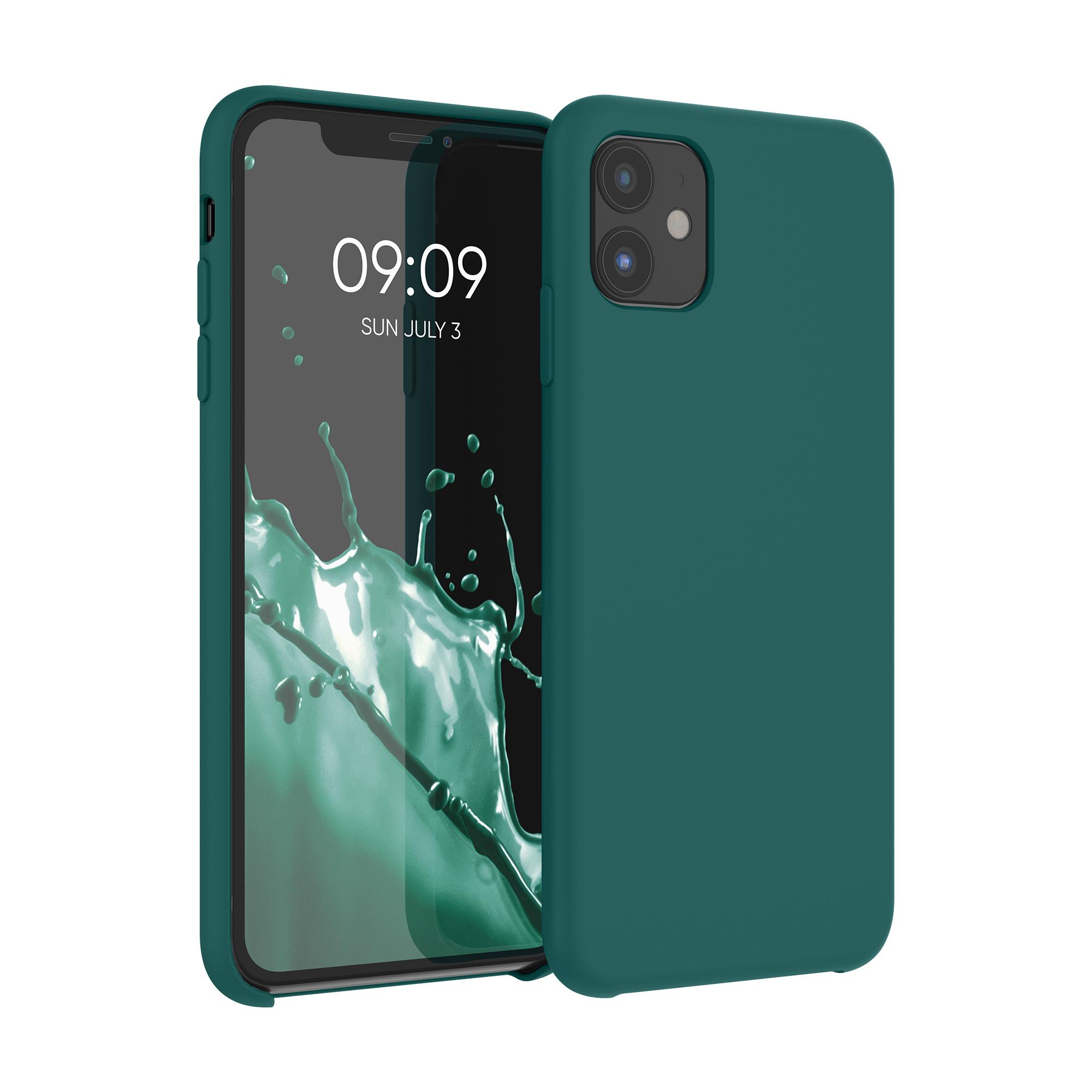 Kvalitní silikonové TPU pouzdro pro Apple iPhone 11 - Turquoise Green