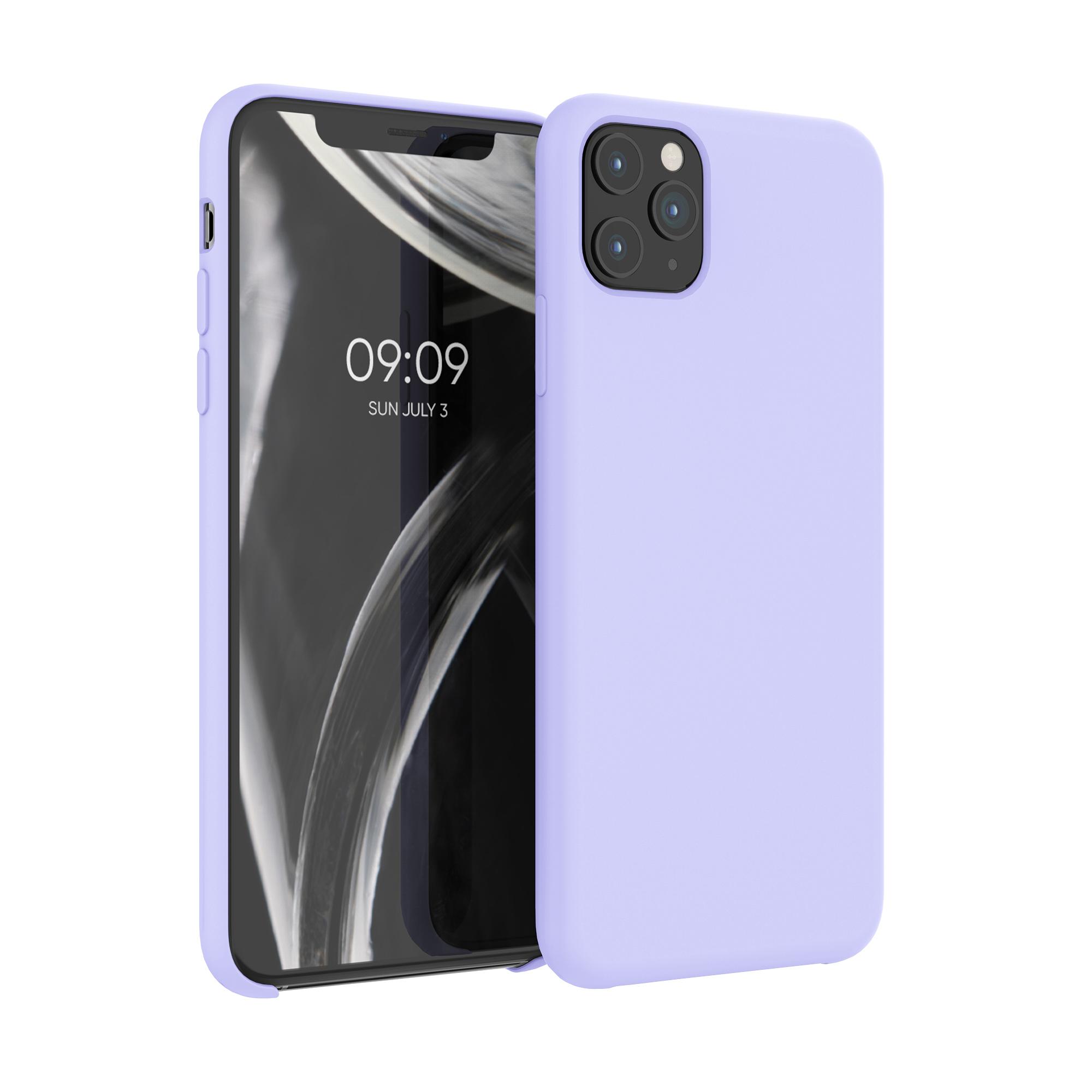 Kvalitní silikonové TPU pouzdro pro Apple iPhone 11 Pro Max - Light Lavender