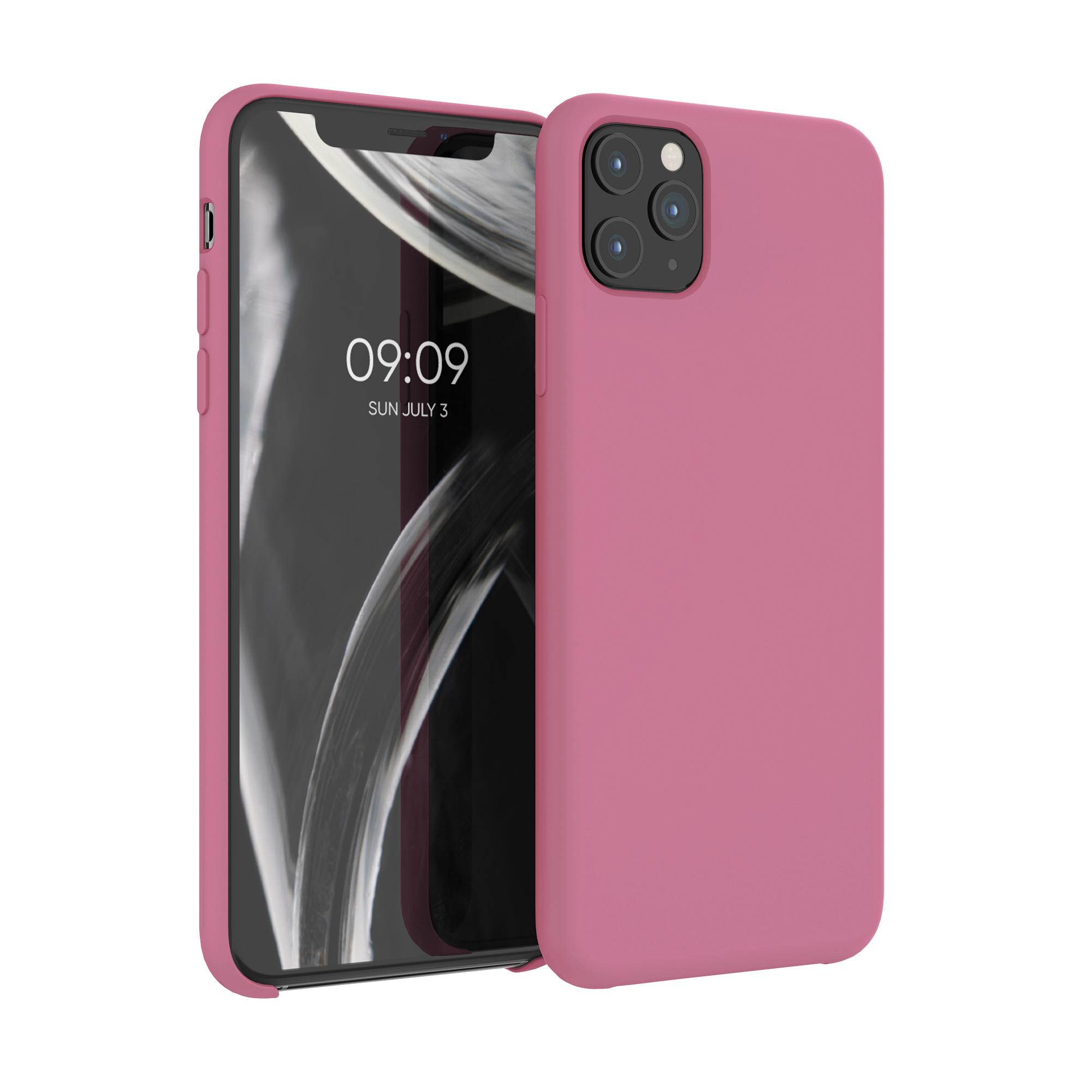 Kvalitní silikonové TPU pouzdro pro Apple iPhone 11 Pro Max - Hluboké Rusty Rose