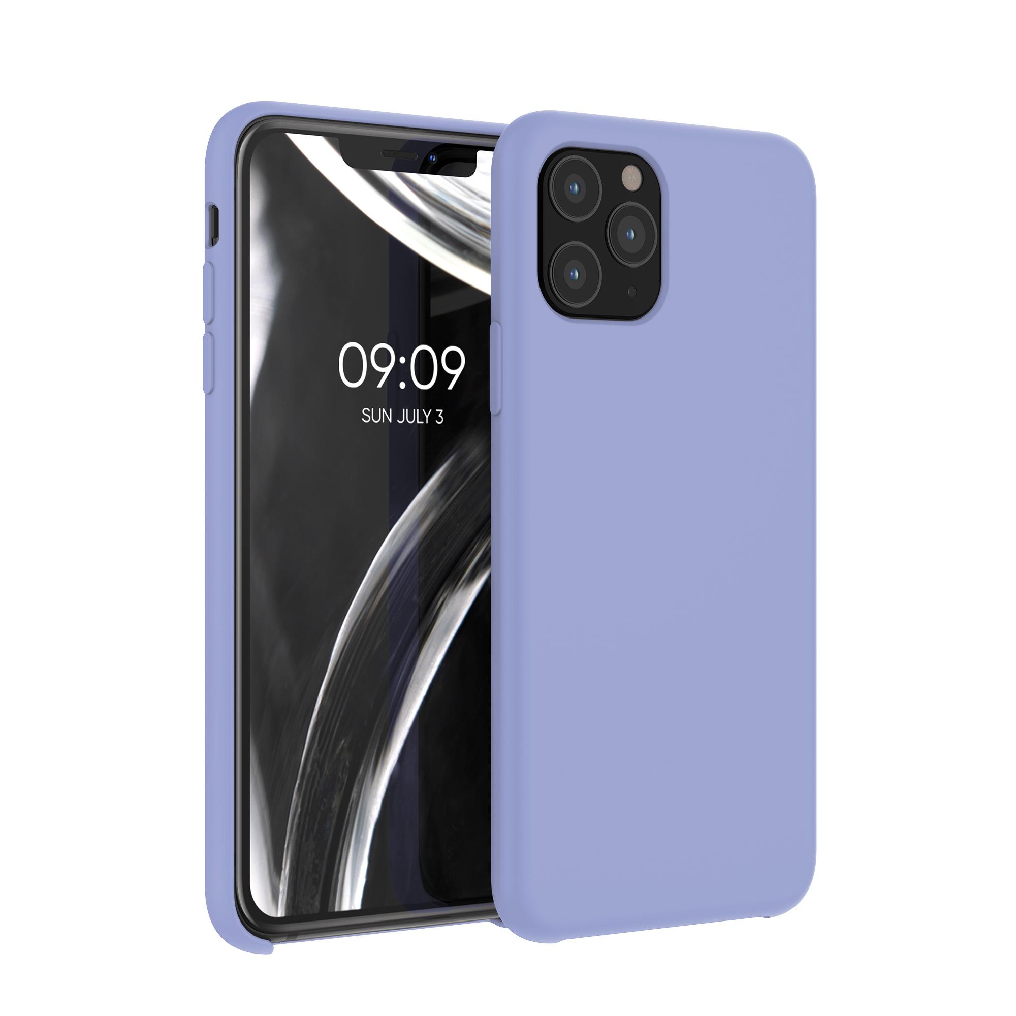 Kvalitní silikonové TPU pouzdro pro Apple iPhone 11 Pro - Lavender Gray