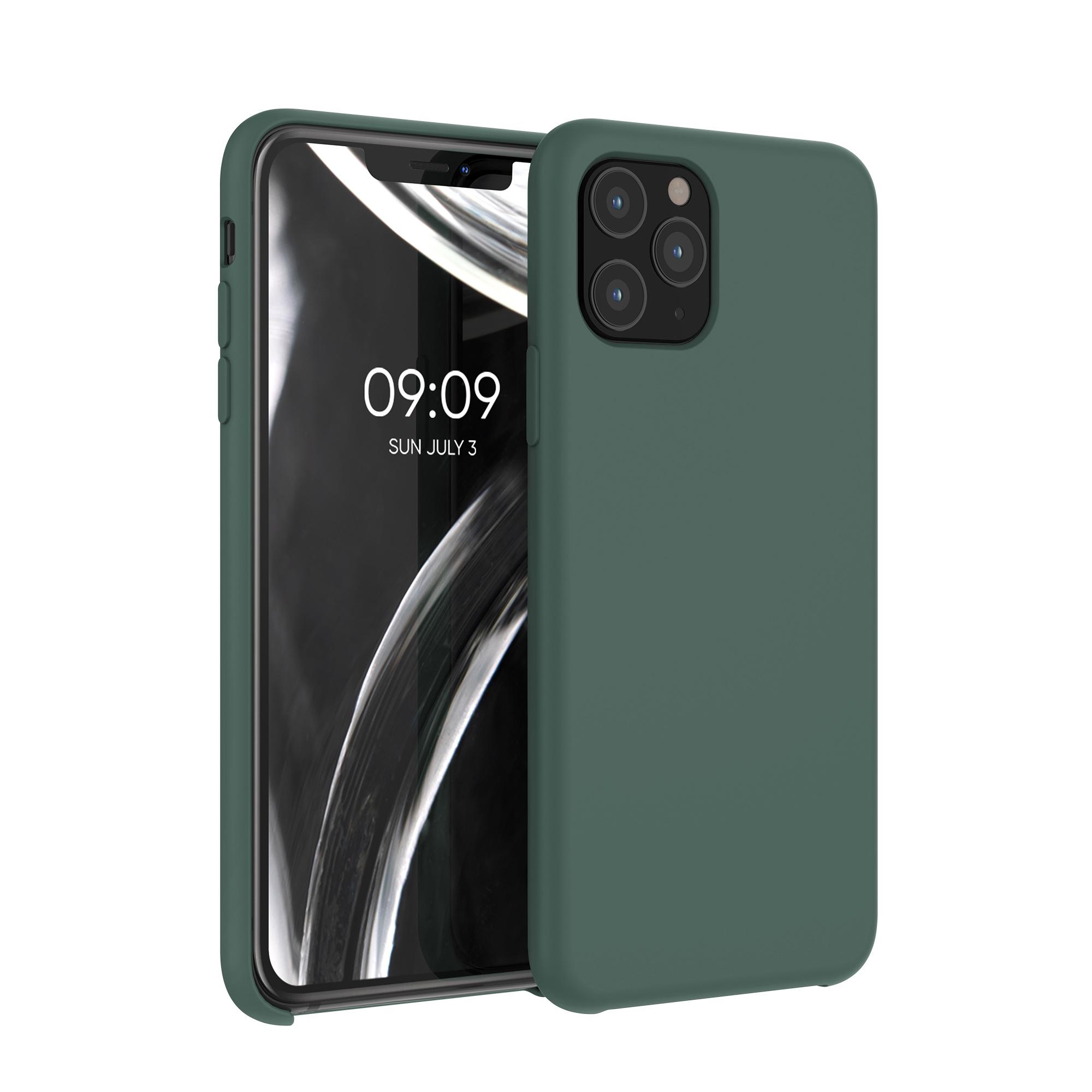 Kvalitní silikonové TPU pouzdro pro Apple iPhone 11 Pro - Moss Green