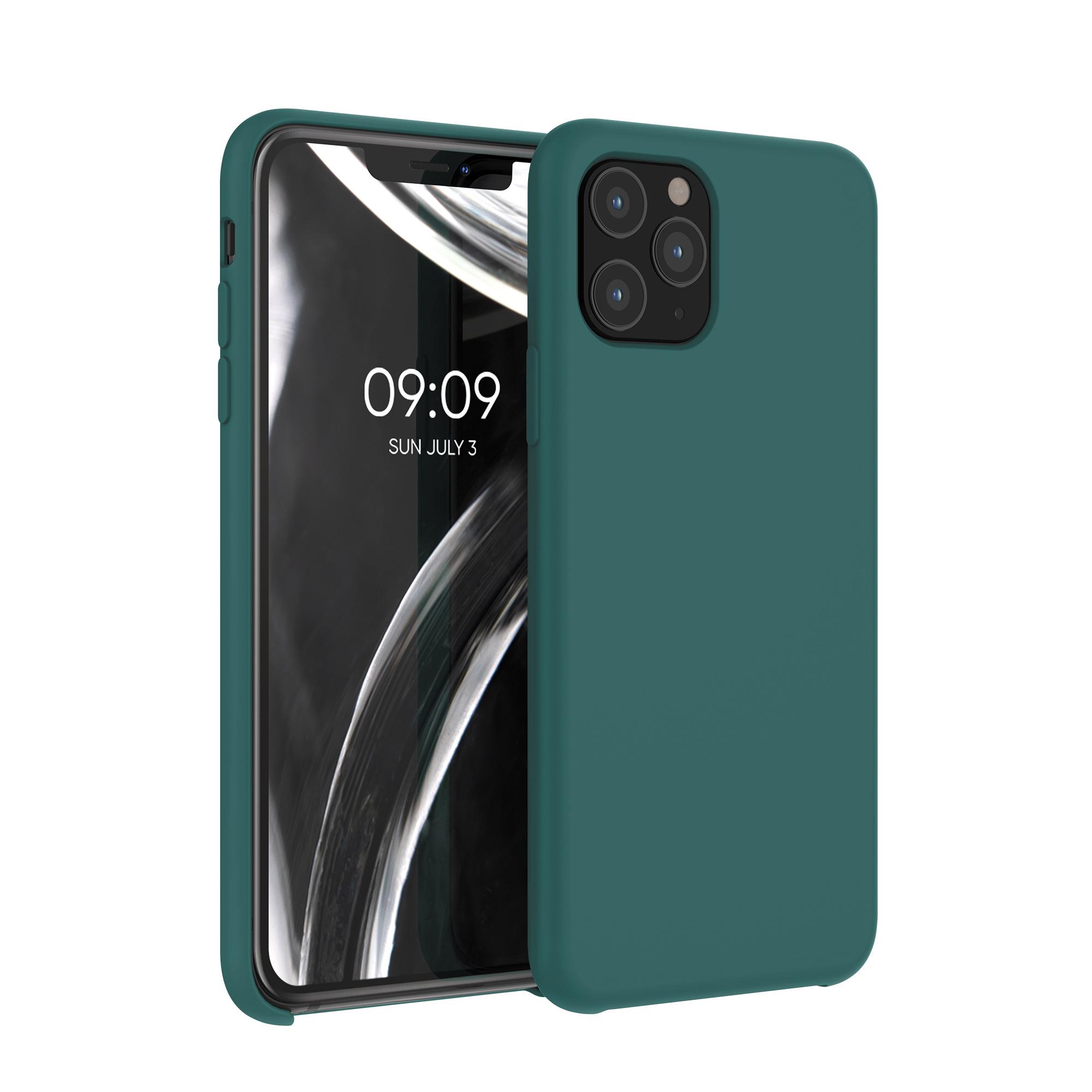 Kvalitní silikonové TPU pouzdro pro Apple iPhone 11 Pro - Turquoise Green