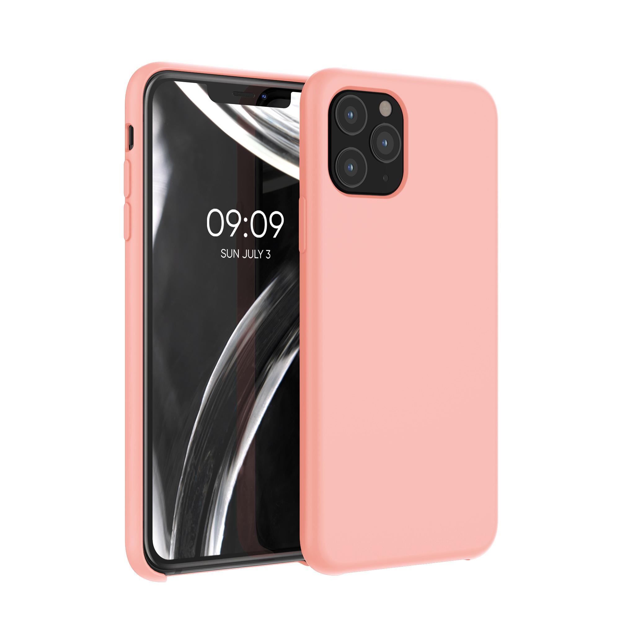 Kvalitní silikonové TPU pouzdro pro Apple iPhone 11 Pro - grapefruit Růžový
