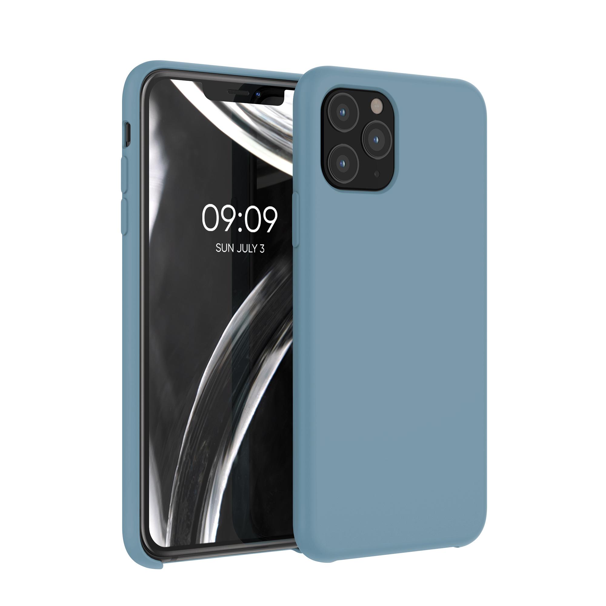Kvalitní silikonové TPU pouzdro pro Apple iPhone 11 Pro - Arctic Modrá