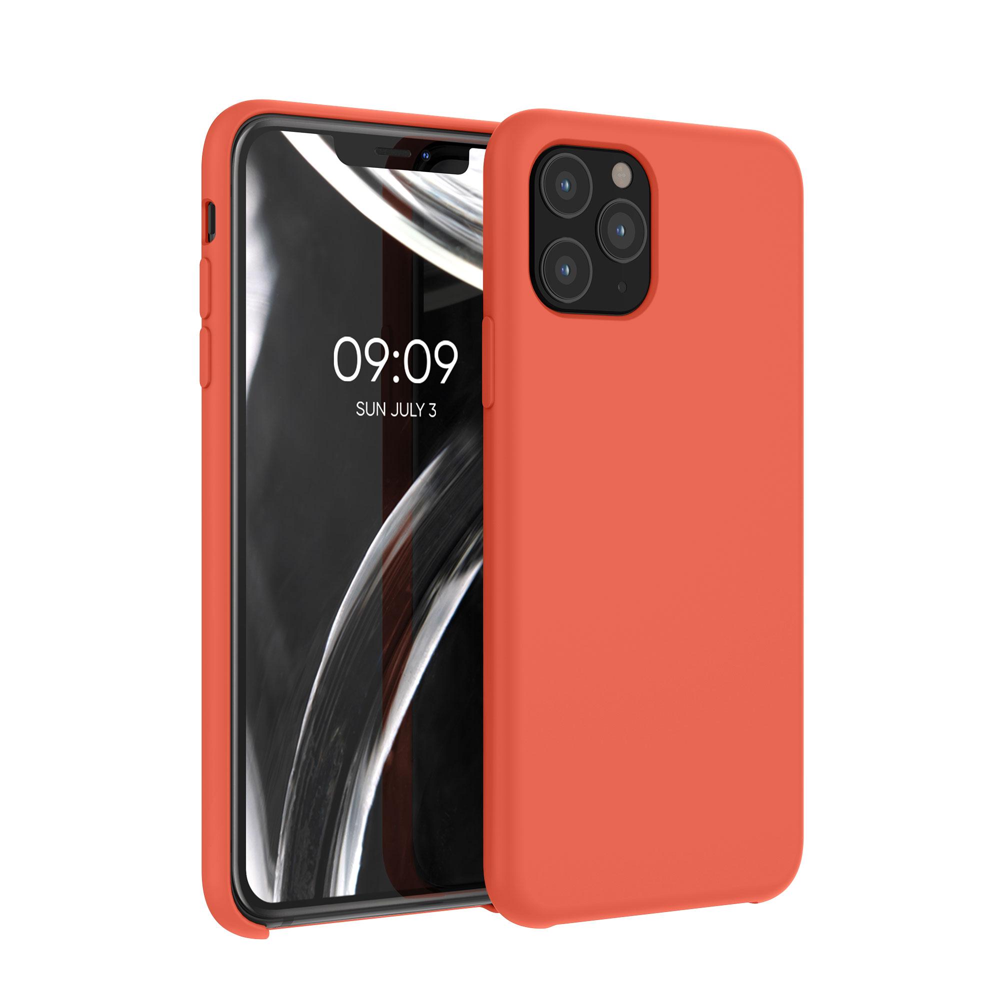 Kvalitní silikonové TPU pouzdro pro Apple iPhone 11 Pro - Neon Orange