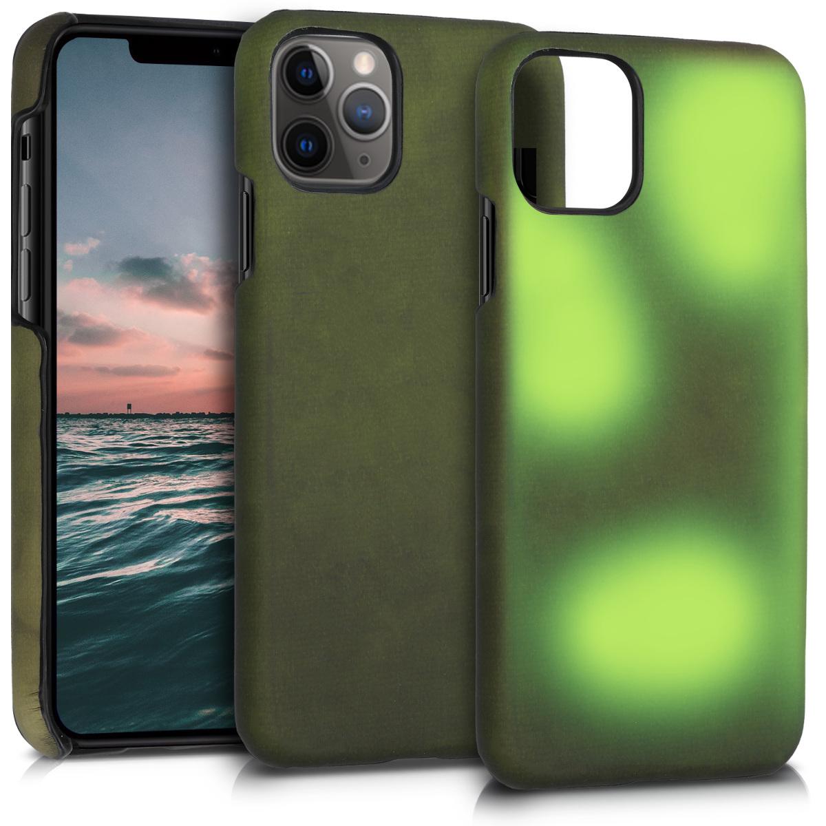 Silikonové teplocitlivé měnící barvy pouzdro obal pro Apple iPhone 11