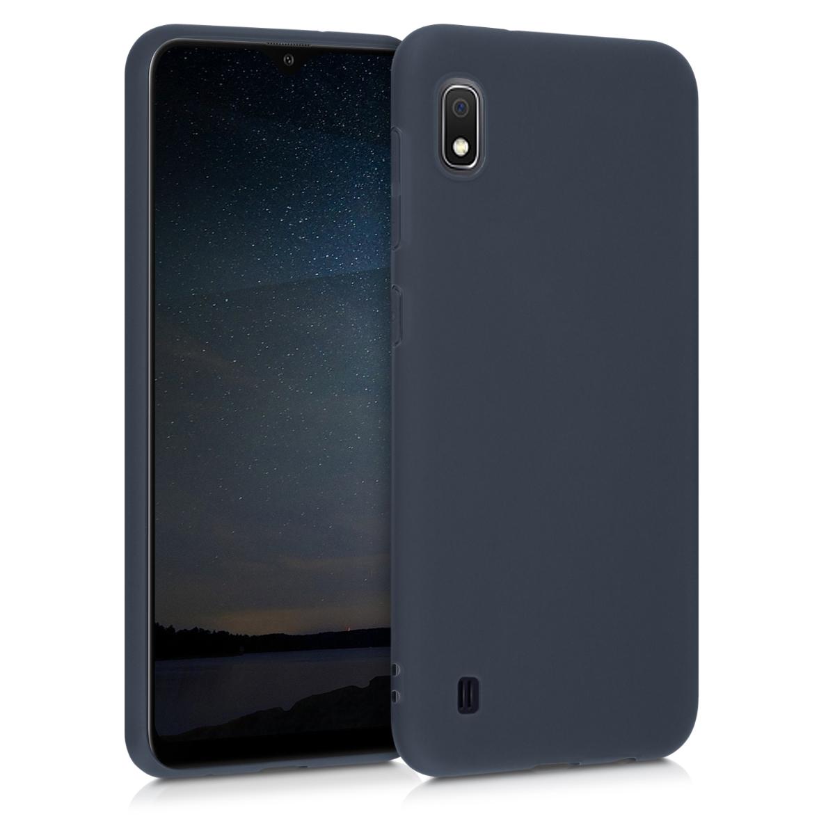 Kvalitní silikonové TPU pouzdro pro Samsung A10 - Borůvka