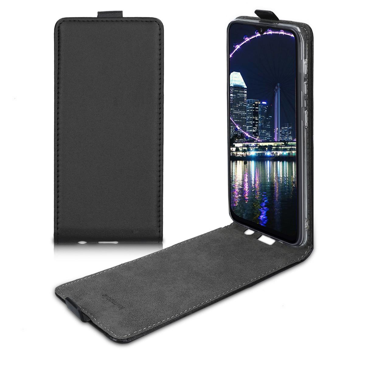 Kožené pouzdro pro Samsung A10 - černé