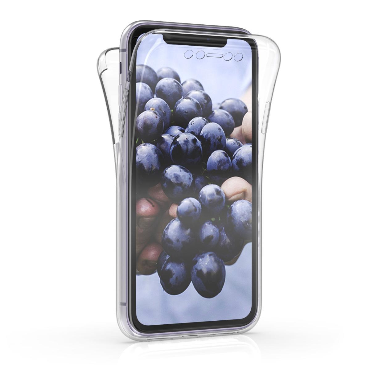 Kvalitní silikonové TPU pouzdro pro Apple iPhone 11 - Průhledný