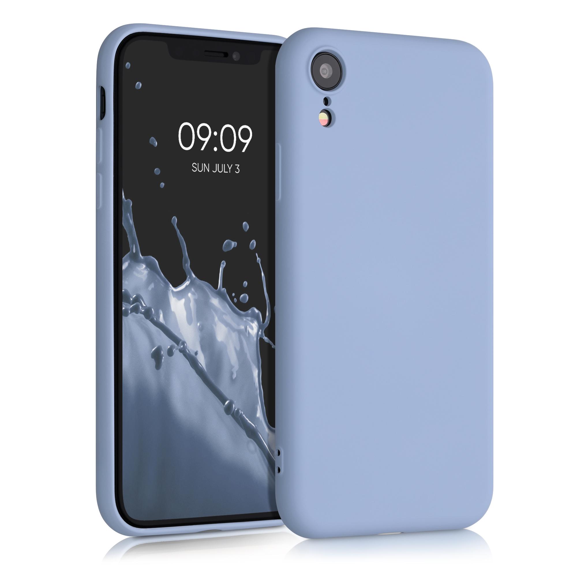 Kvalitní silikonové TPU pouzdro pro Apple iPhone XR - Light Blue Matte