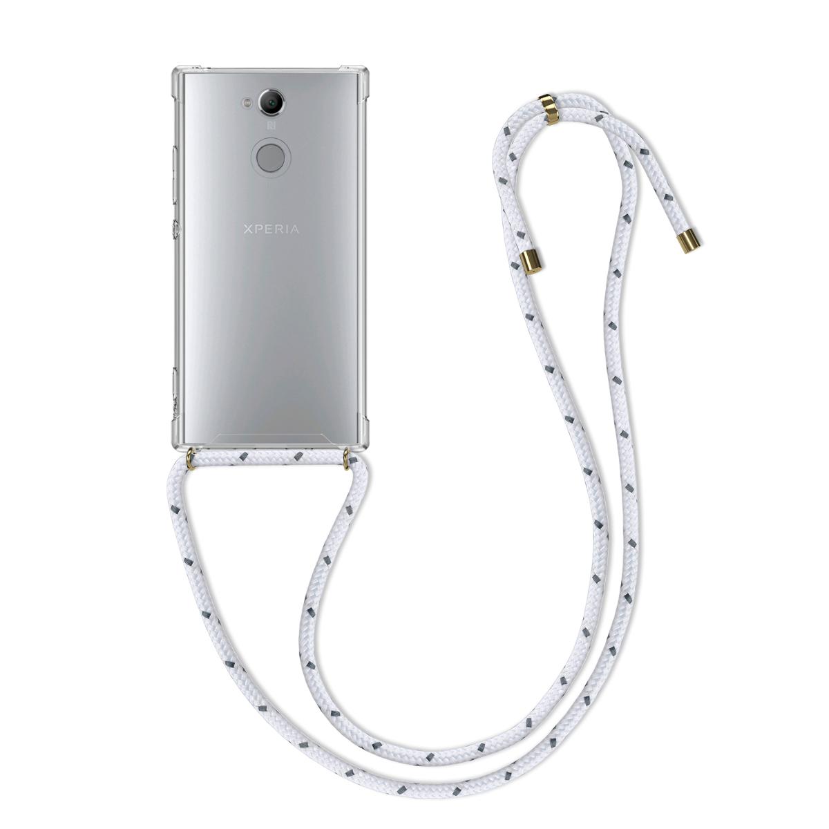 Kvalitní silikonové TPU pouzdro | obal pro Sony Xperia XA2 - průhledný