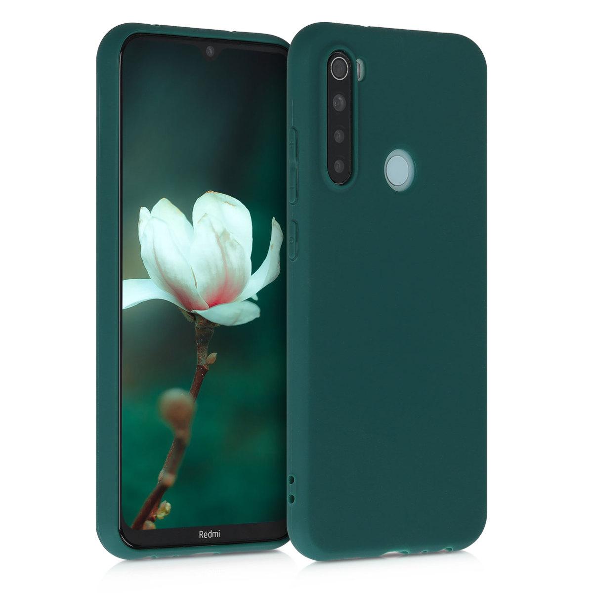 Kvalitní silikonové TPU pouzdro | obal pro Xiaomi Redmi Note 8 - tyrkysový zelený