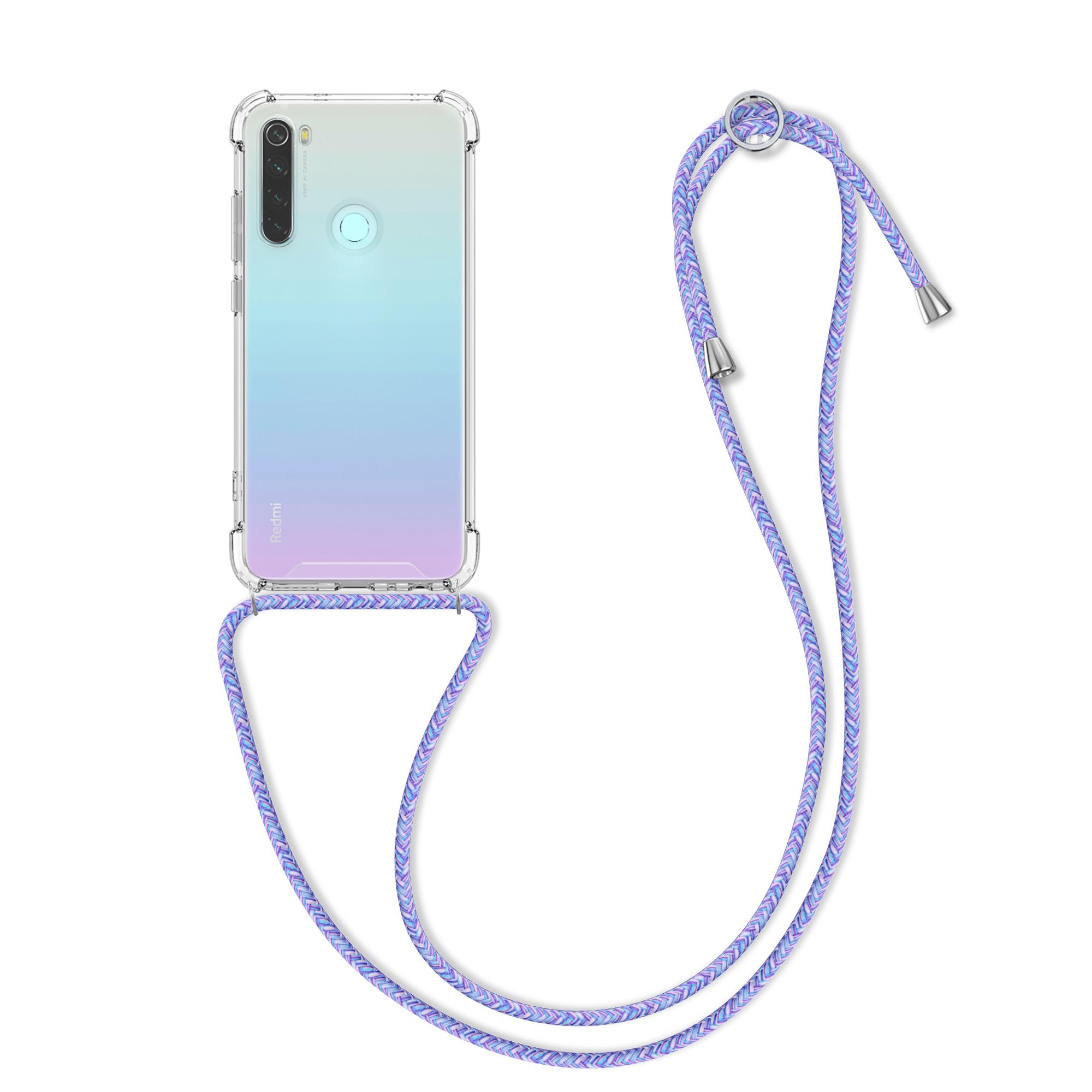 Kvalitní silikonové TPU pouzdro | obal pro Xiaomi Redmi Note 8 - Levandule / fialový / světle modrý