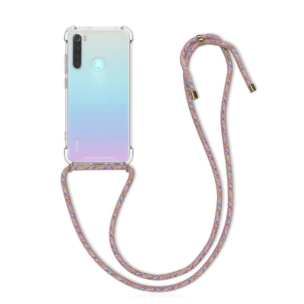 Kvalitní silikonové TPU pouzdro | obal pro Xiaomi Redmi Note 8 - Vícebarevný / transparentní