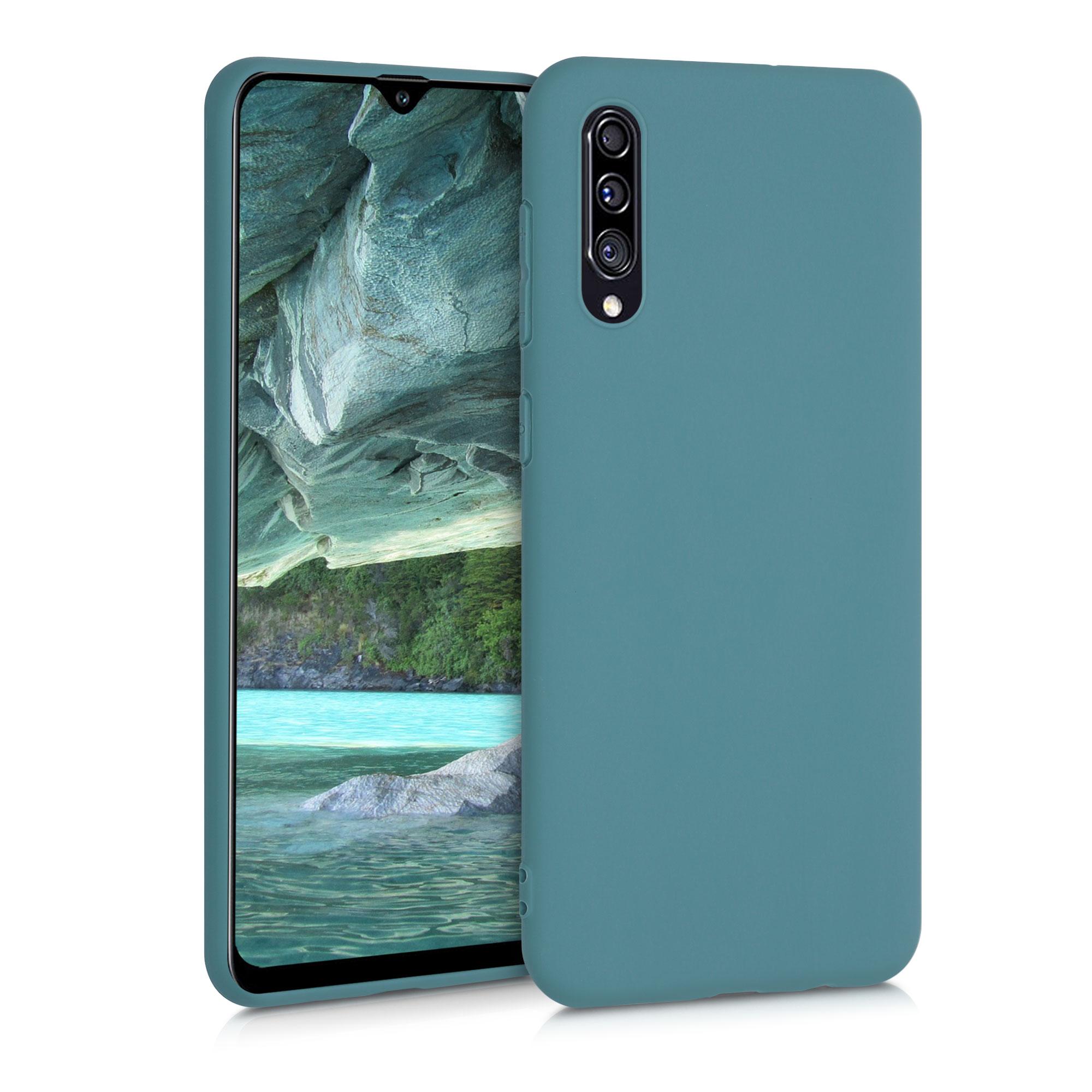 Kvalitní silikonové TPU pouzdro pro Samsung A30s - Arctic modré