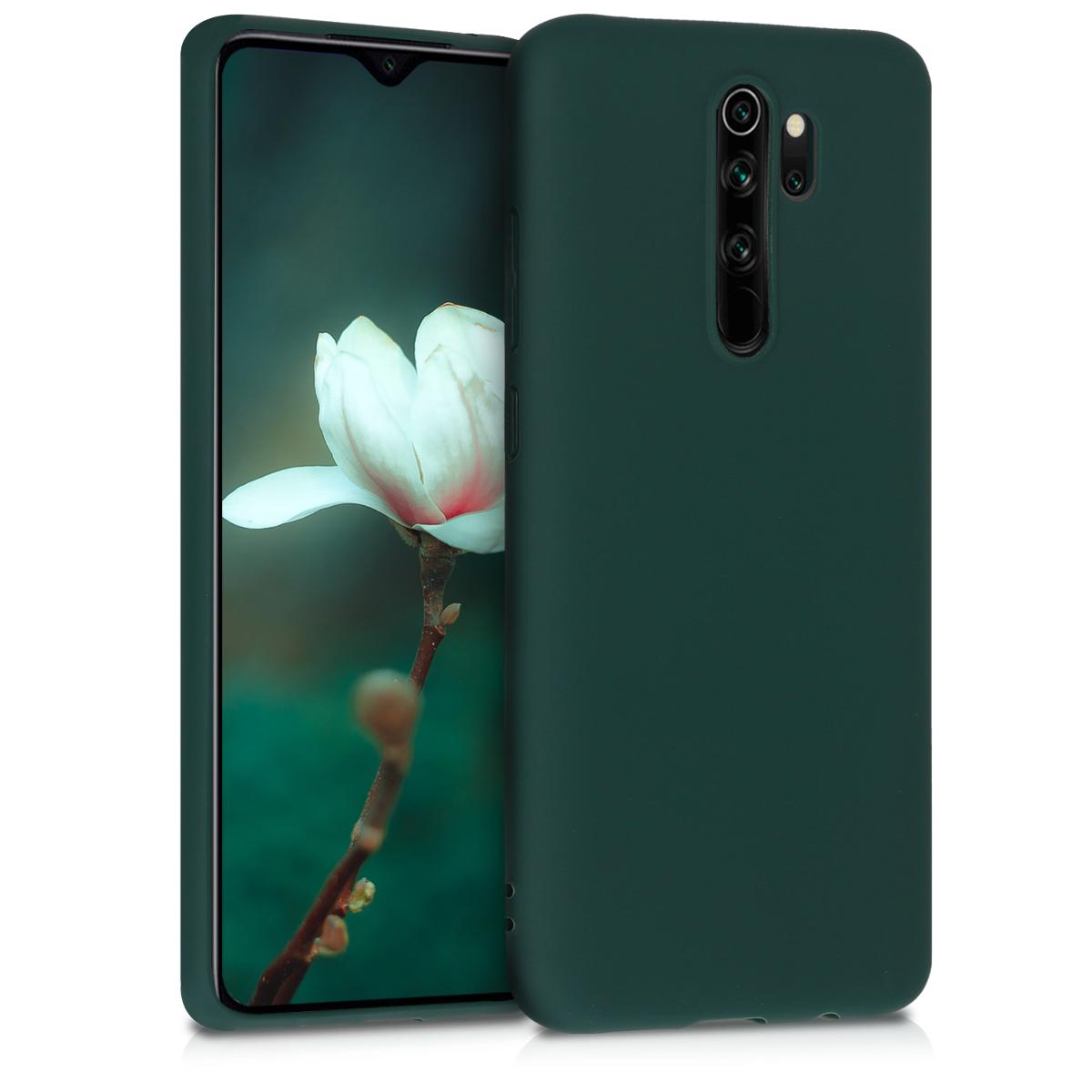 Kvalitní silikonové TPU pouzdro | obal pro Xiaomi Redmi Note 8 Pro - Moss zelený