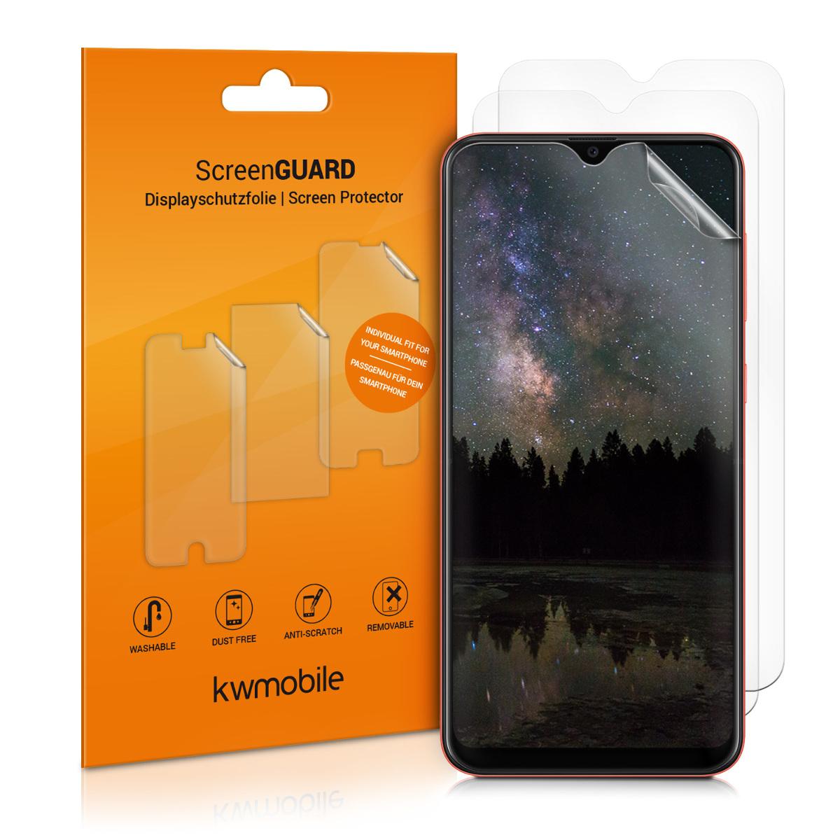 3x folie na display / screenprotector pro Samsung Galaxy A20