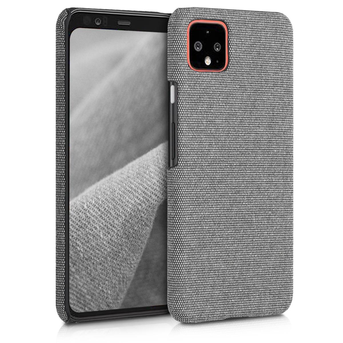 Textilní látkové pouzdro | obal pro Google Pixel 4 XL - Tmavě šedá