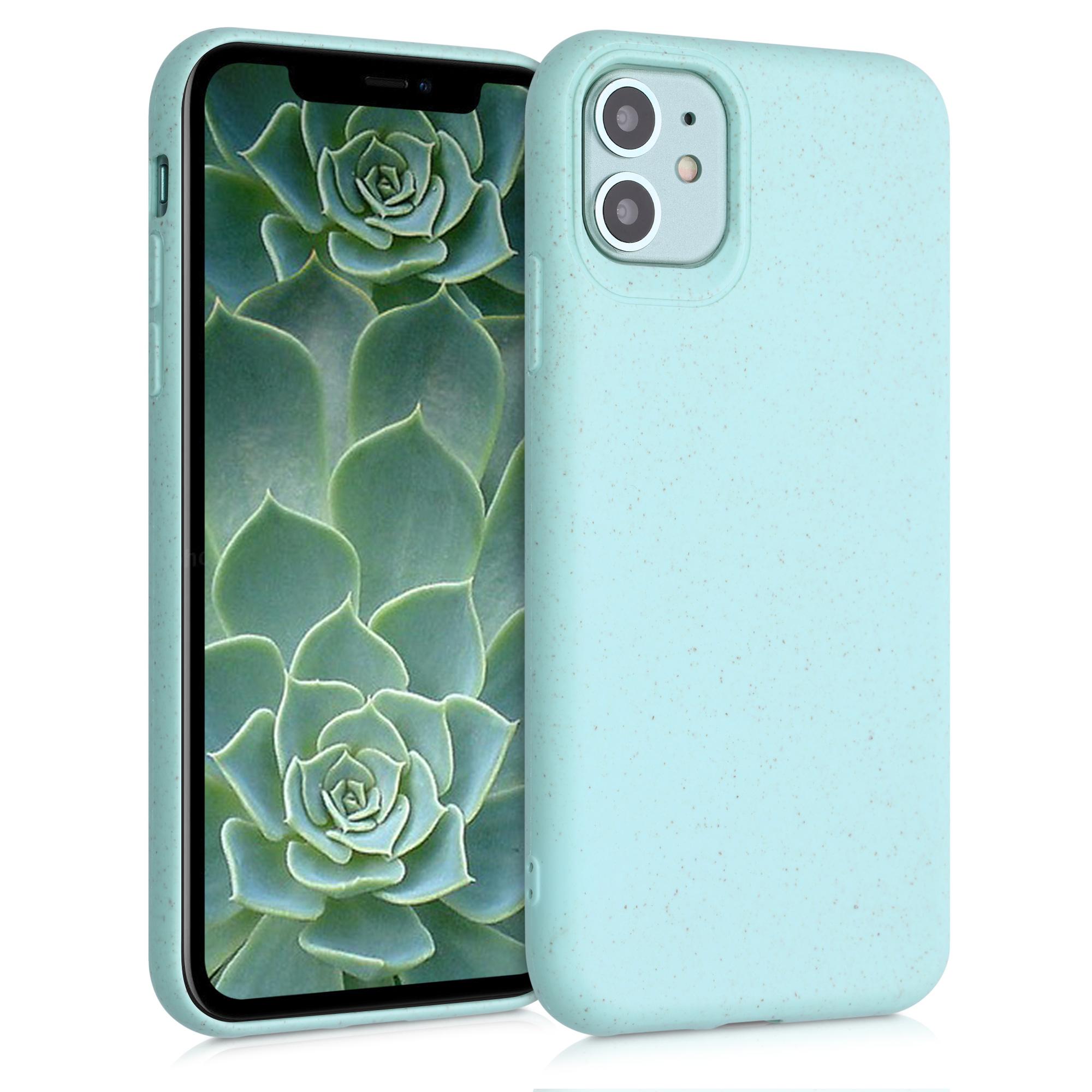 Kvalitní silikonové TPU pouzdro pro Apple iPhone 11 - pastel Green