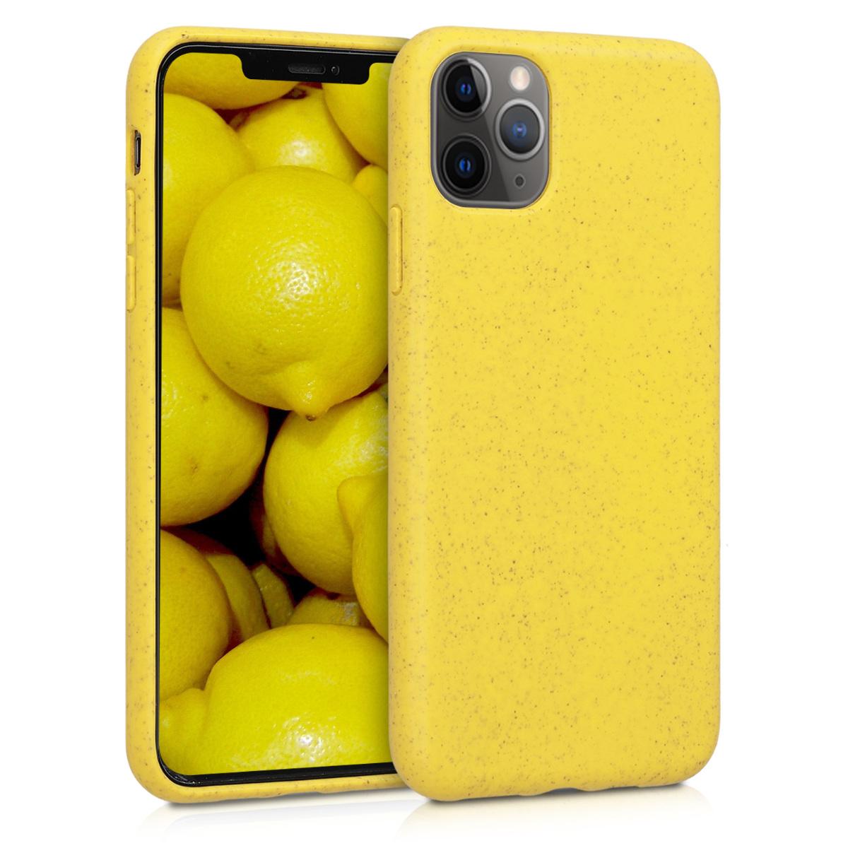 Kvalitní silikonové TPU pouzdro pro Apple iPhone 11 Pro Max - Žlutá