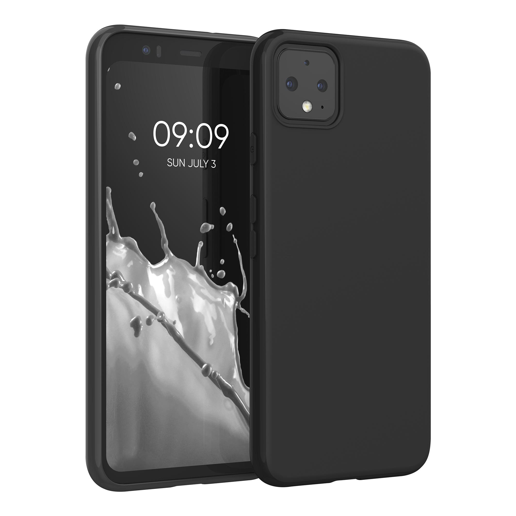 Kvalitní silikonové TPU pouzdro | obal pro Google Pixel 4 - Černá matná