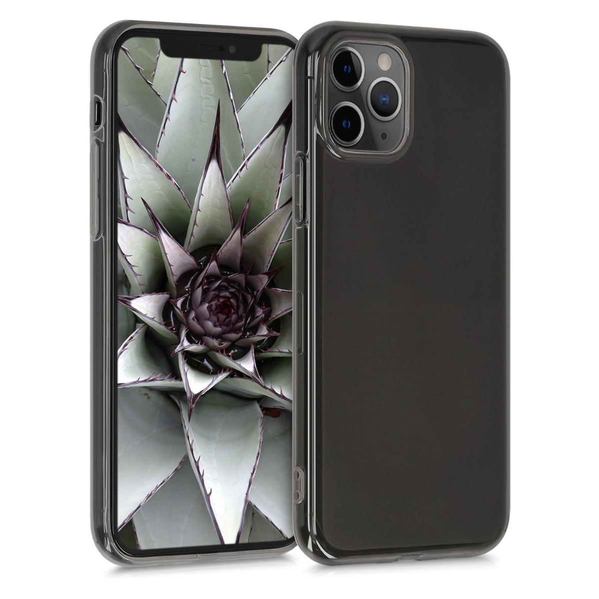 Kvalitní silikonové TPU pouzdro pro Apple iPhone 11 Pro Max - Černá