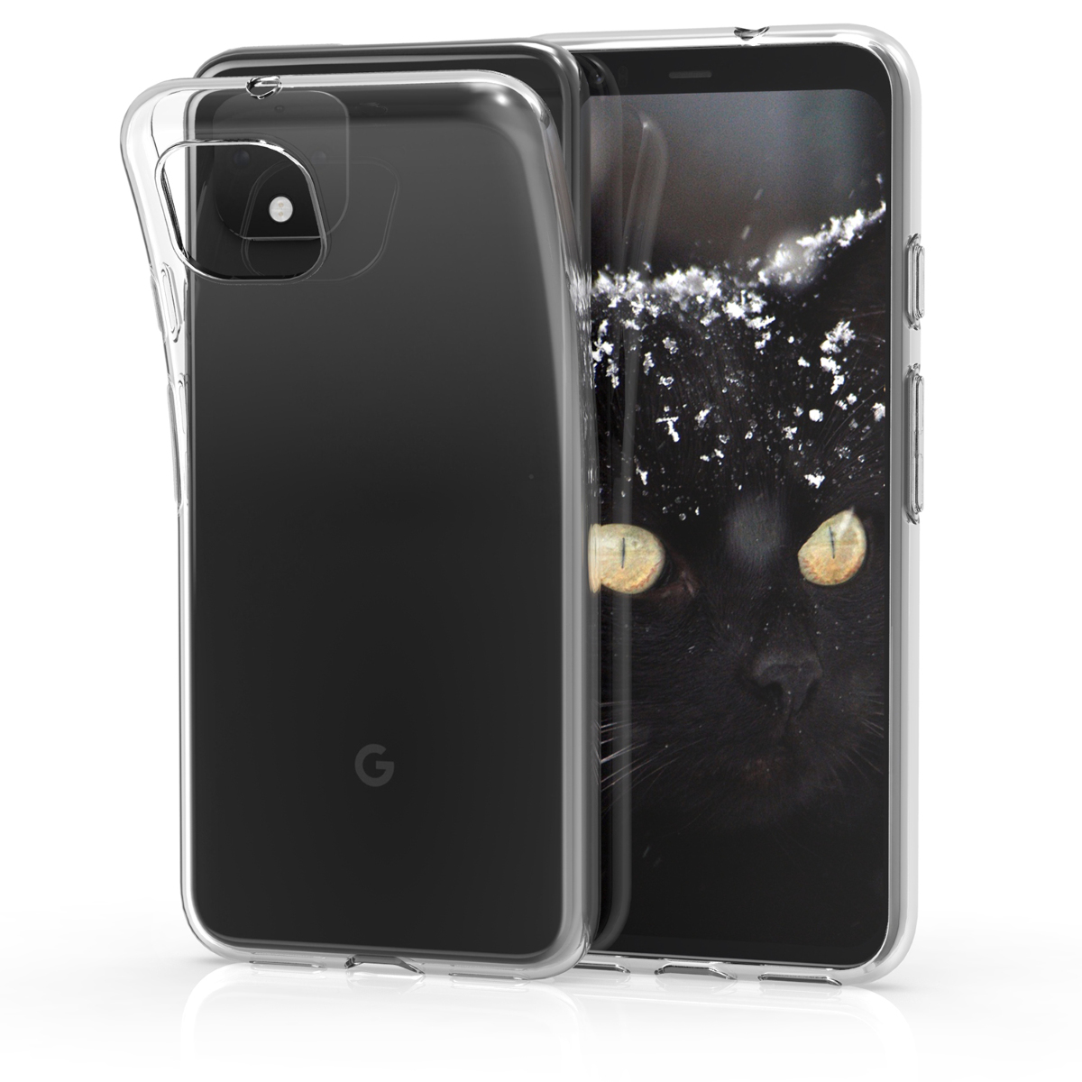 Kvalitní silikonové TPU pouzdro | obal pro Google Pixel 4 - Transparentní