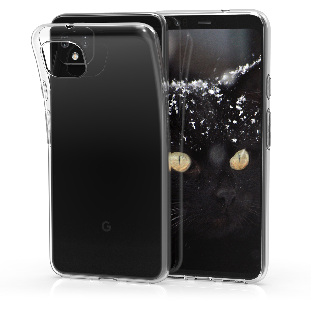 Kvalitní silikonové TPU pouzdro | obal pro Google Pixel 4 XL - Transparentní