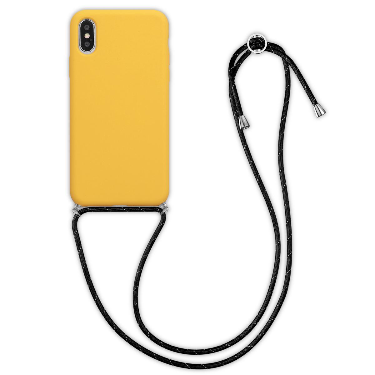 Kvalitní silikonové TPU pouzdro pro Apple iPhone X - Honey Yellow