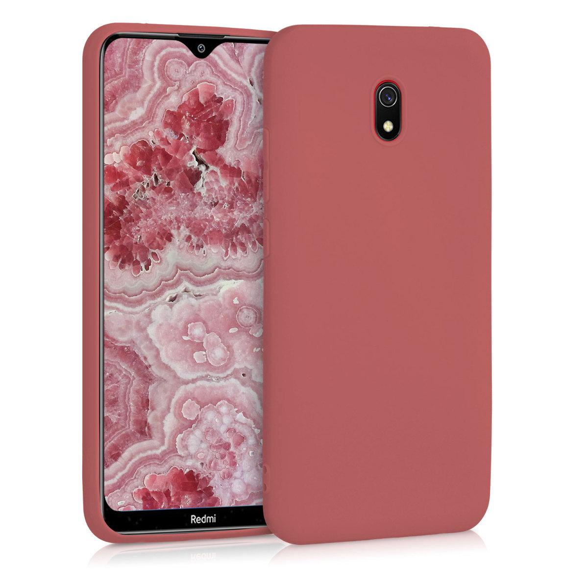 Kvalitní silikonové TPU pouzdro | obal pro Xiaomi Redmi 8A - Maroon červený