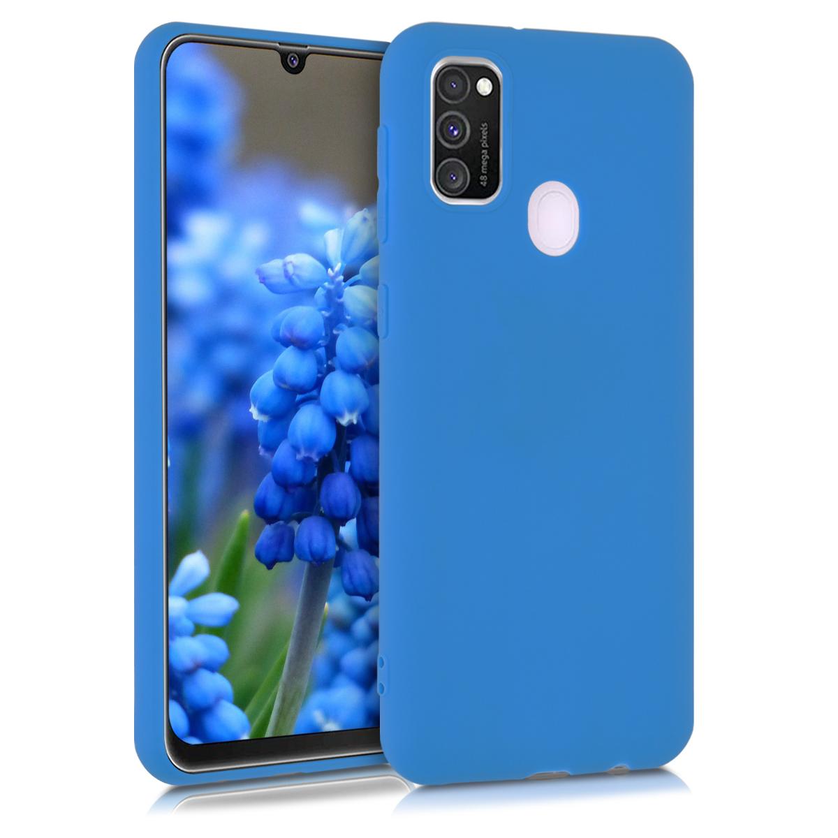 Kvalitní silikonové TPU pouzdro pro Samsung M30s - Surf modré