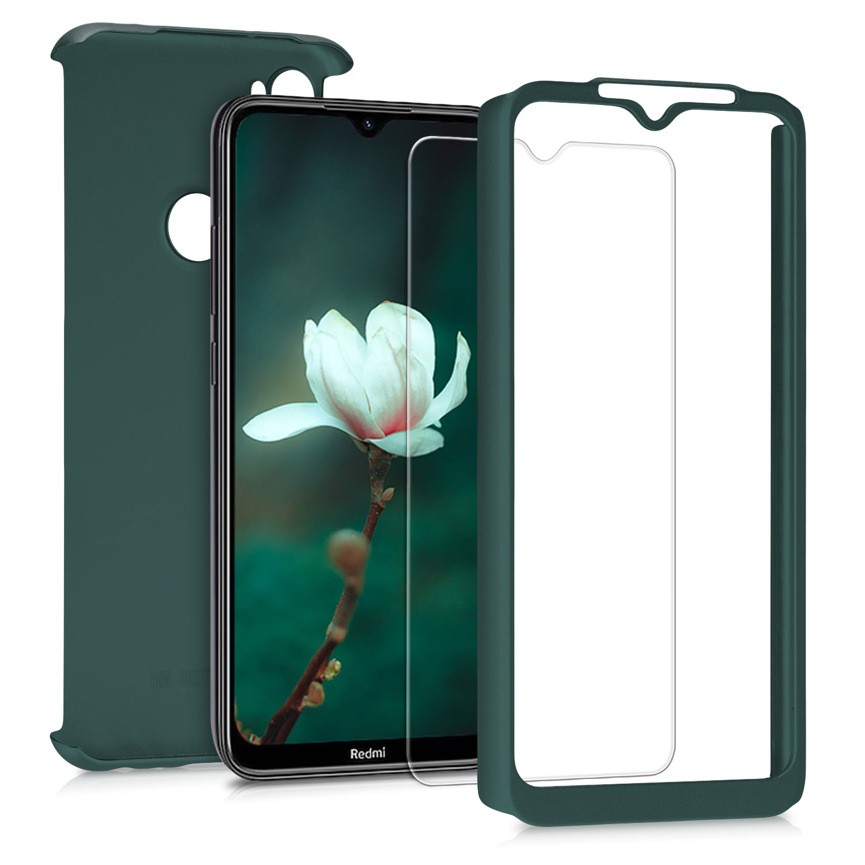 Kvalitní plastové pouzdro | obal pro Xiaomi Redmi Note 8T - Tmavé metalické zelený