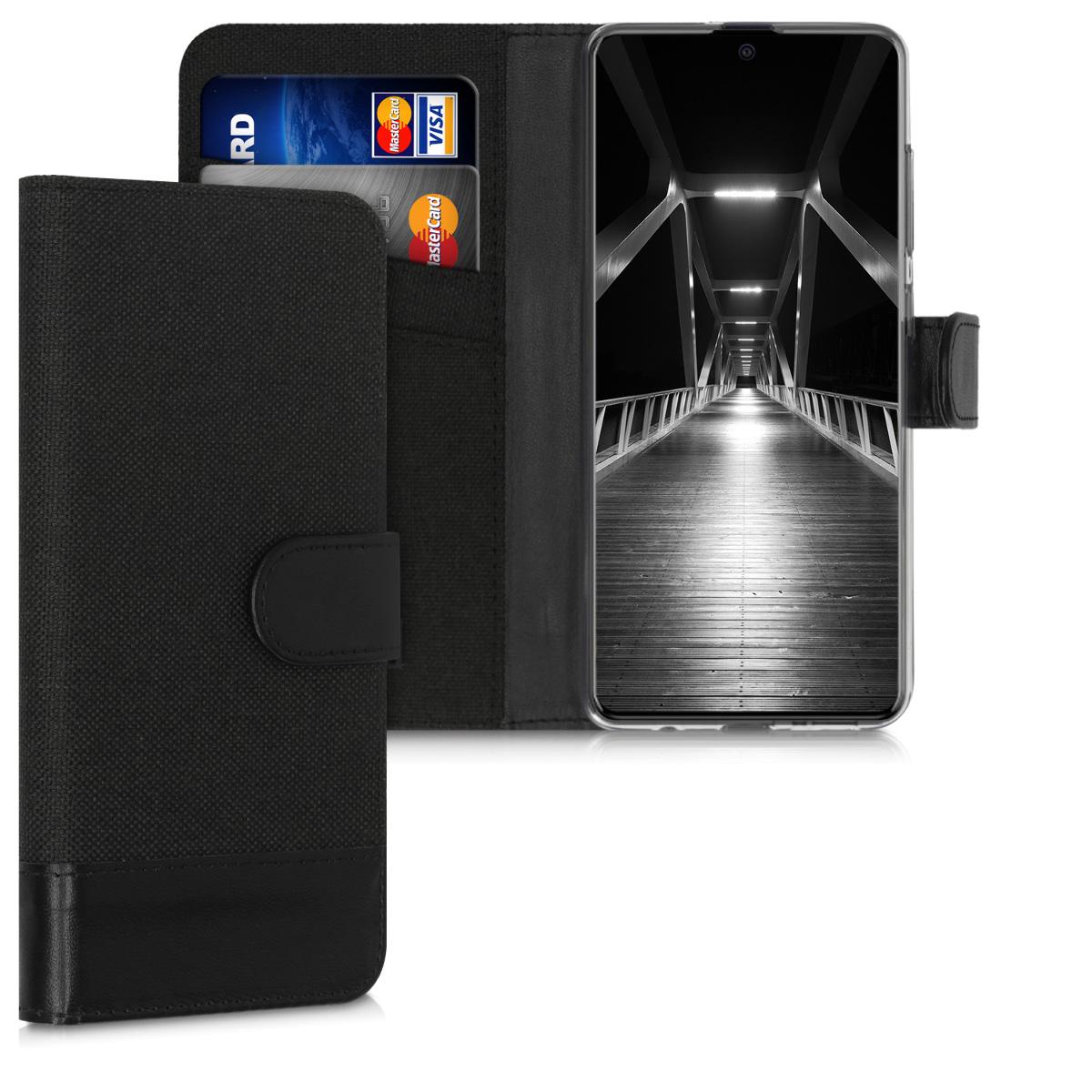 Fabricpouzdro pro Samsung A51 - Anthracite / černé