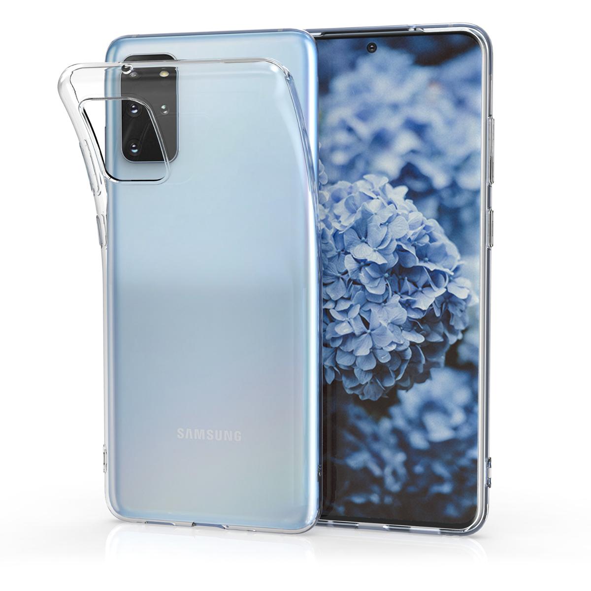 Průhledné silikonové pouzdro / obal pro Samsung S20 Plus