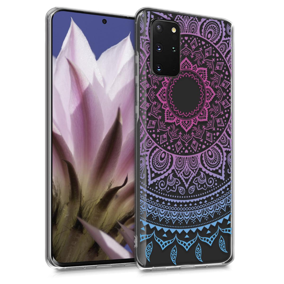 Silikonové pouzdro / obal s motivem indické slunce pro Samsung S20 Plus