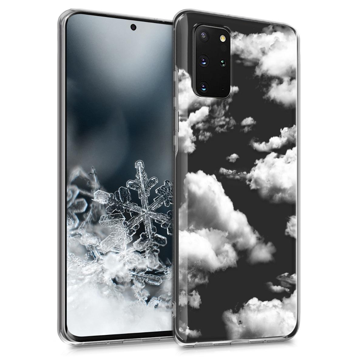 Silikonové pouzdro / obal s motivem mraků a oblohy pro Samsung S20 Plus