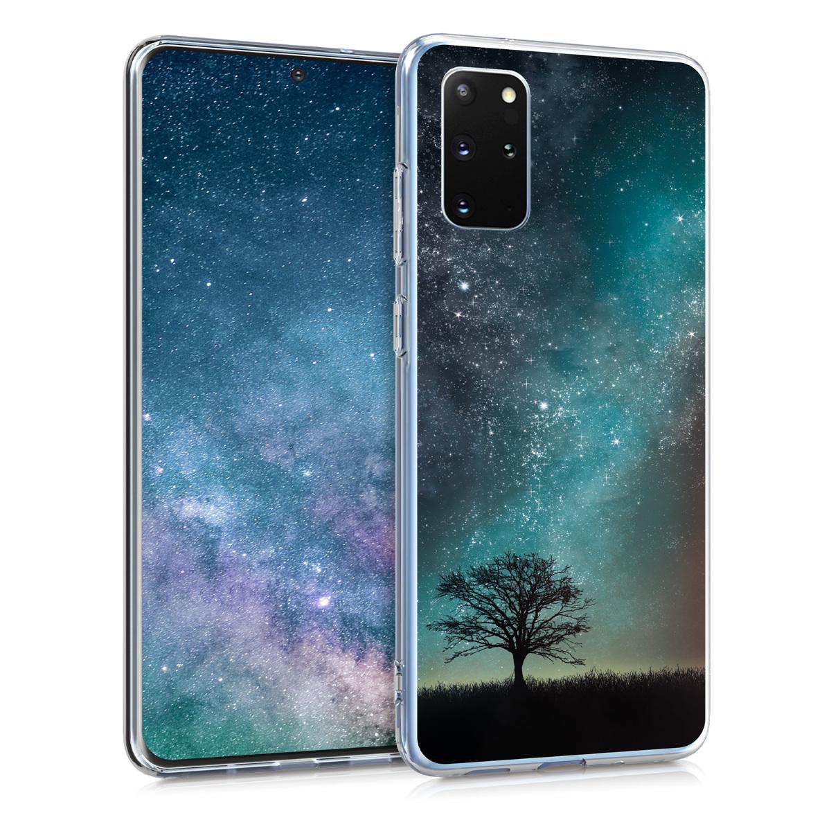 Silikonové pouzdro / obal s motivem hvězdné oblohy vesmíru  pro Samsung S20 Plus