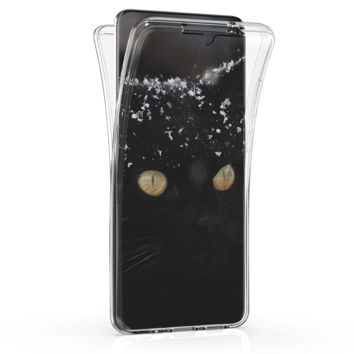 Oboustranné průhledné silikonové pouzdro / obal pro Samsung S20 Plus
