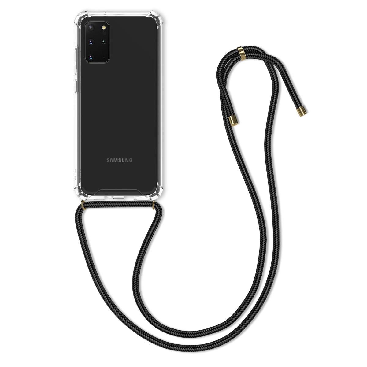 Průhledné silikonové pouzdro / obal na krk pro Samsung S20 Plus