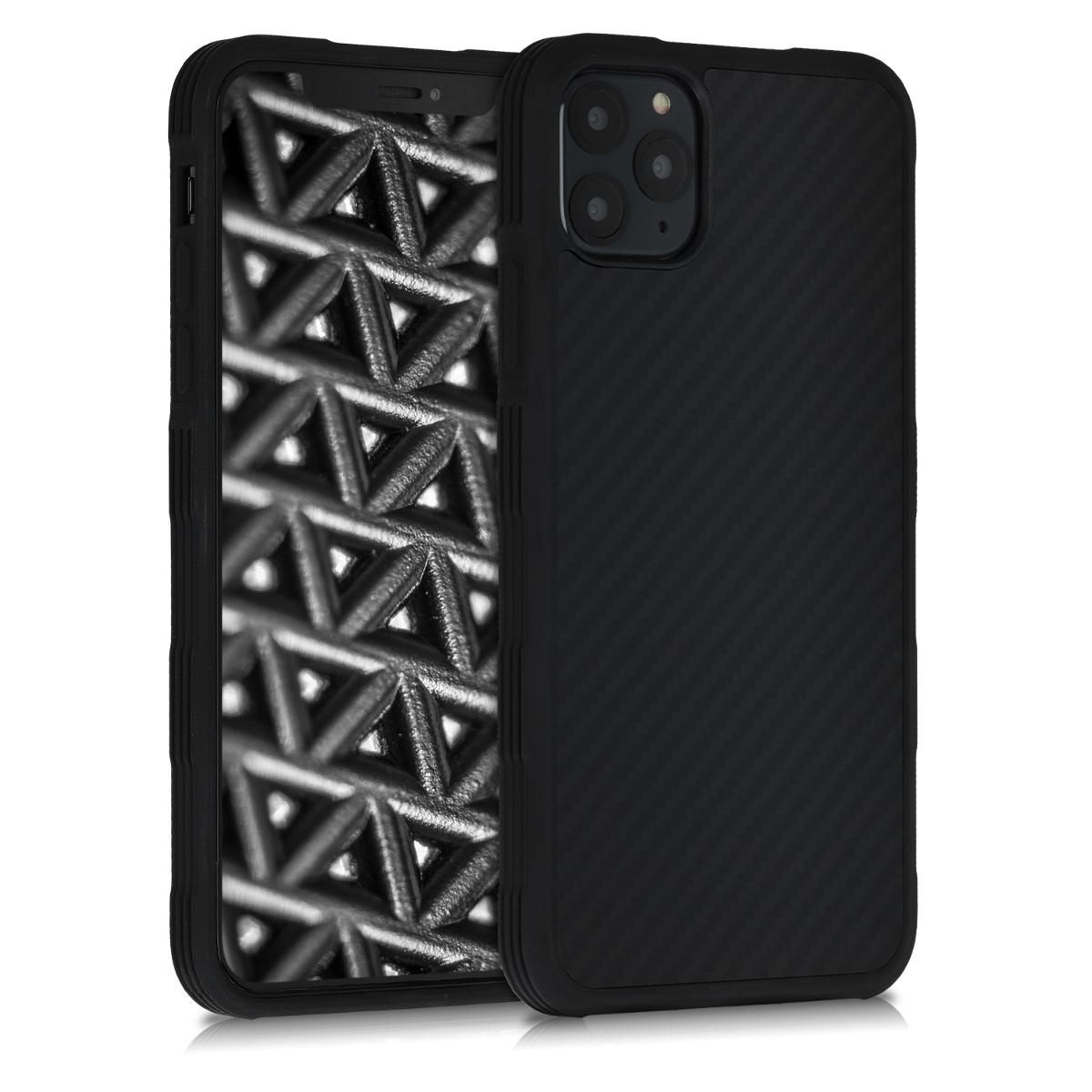Aramidpouzdro pro Apple iPhone 11 Pro Max - Černá