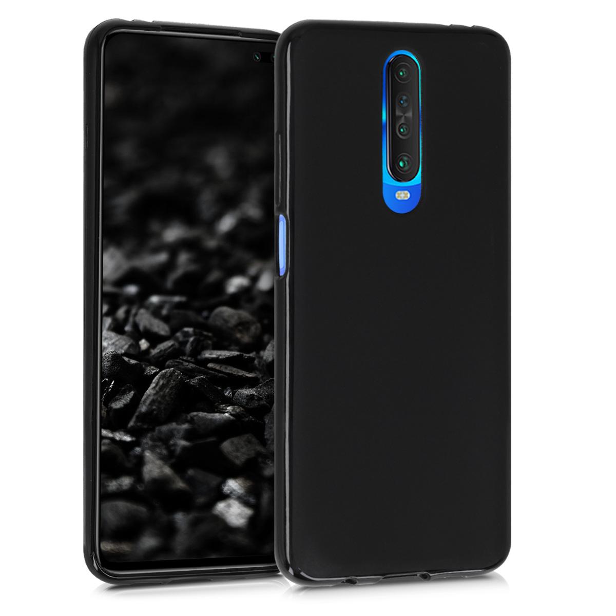 Kvalitní silikonové TPU pouzdro | obal pro Xiaomi Redmi K30 - černý matný