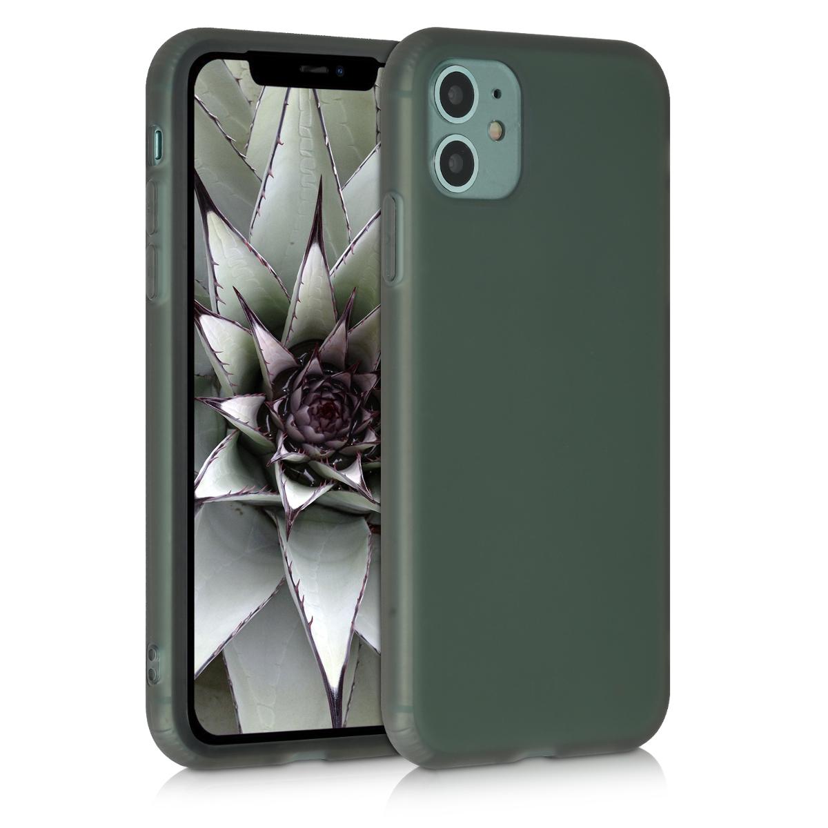Kvalitní silikonové TPU  pouzdro pro Apple iPhone 11 - Černá